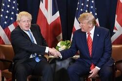 بحث داغ ترامپ و جانسون در مورد امنیت دنیای مخابرات