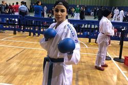 بهمنیار برای کسب مدال برنز تلاش می کند/سارا سومین المپیکی کاراته