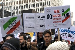 Anti-war protesters rally in Montreal