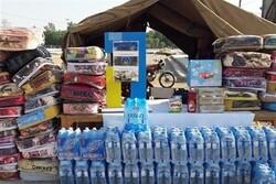 توزیع ۱۴۰۰ بسته حمایتی در مناطق سیلزده سیستان و بلوچستان