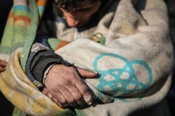 نمایی از حضور معتادان متجاهر در خیابان های اسلامشهر