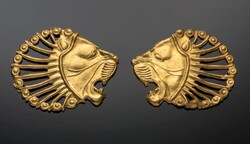 This Achaemenid jewellery was due to go on show at the Badisches Landesmuseum © Badisches Landesmuseum, Photo: Gaul