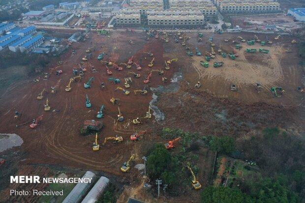 ساخت بیمارستان هزار تختخوابی در ۱۰ روز
