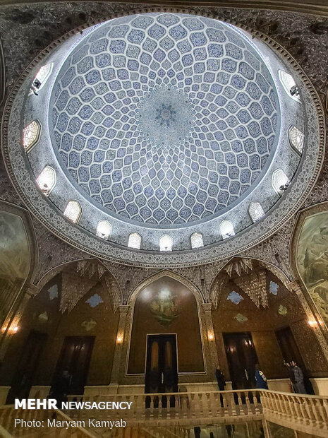 Marble Palace in Tehran
