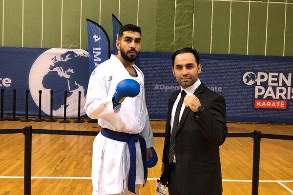 مدال برنز بر گردن صالح اباذری/ نخستین مدال ایران در لیگ جهانی