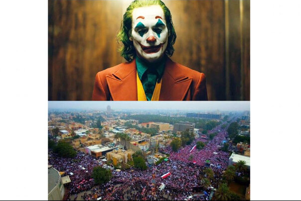 """""""Joker"""" riots or """"Jadriya"""" rage: Which occupies the streets of the Middle East?"""