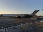 İran'da yolcu uçağı pistten çıktı!