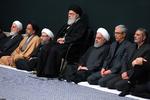 دومین شب مراسم عزاداری حضرت زهرا(س) با حضور رهبر انقلاب برگزار شد