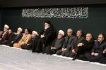رہبر معظم کی موجودگی میں حضرت زہرا(س) کی شہادت کی مناسبت سے دوسری شب میں مجلس عزا