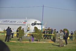 ۲ مصدوم در حادثه هواپیما فرودگاه ماهشهر