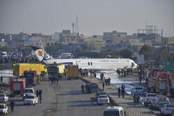 محور ماهشهر – سربندر به علت وجود هواپیما بسته شده است