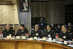 Meeting of Iran's anti-narcotics police chiefs