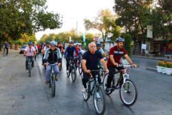 احداث حدود ۴۲ کیلومتر مسیر دوچرخه سواری در شرق تهران