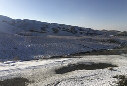 VIDEO: Snowfall in Fars province