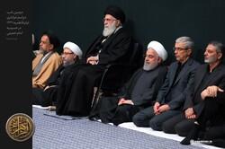 حسینیہ امام خمینی میں حضرت زہرا (س) کی شہادت کی مناسبت سے دوسری شب میں مجلس عزا