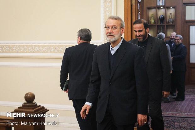 رئیسمجلس از سردار علی فضلی عیادت کرد