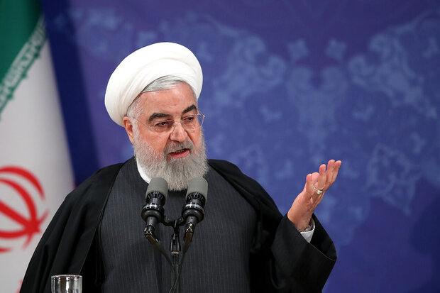 """We'll definitely continue Imam Khomeini's path with Leader's guidance"": Rouhani"