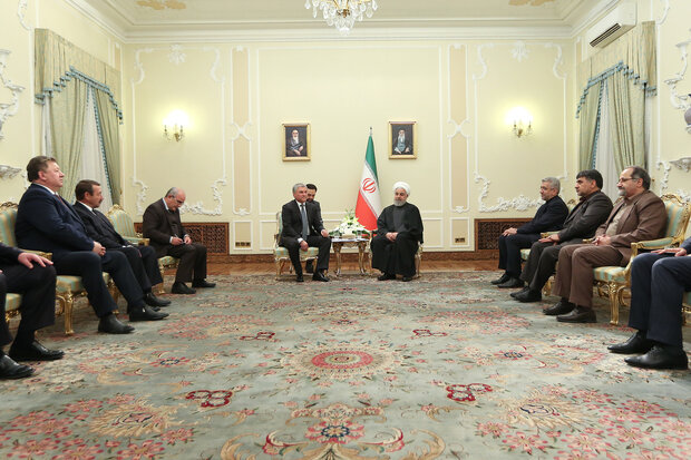 Iran-Russia ties growing despite US pressure: Rouhani