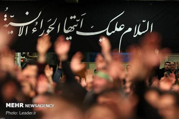 دومین شب عزاداری حضرت فاطمهزهرا (س) در حسینیه امام خمینی (ره)