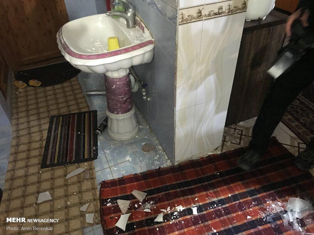 زمین لرزه ۵.۴ ریشتری در خانه زنیان استان فارس