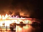 امریکی ریاست الباما کی لنگرگاہ میں آگ لگنے سے8 افراد ہلاک