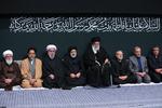 رہبر معظم کی موجودگی میں حضرت زہرا(س) کی شب شہادت کی مناسبت سے مجلس عزامنعقد