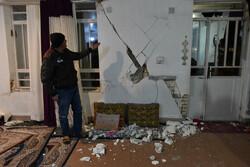 صور من الخسائر المادية التي الحقها الزلزال بمحافظة فارس/صور
