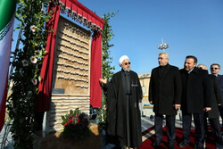 روحاني يفتتح المرحلة الثانية لمحطة معالجة المياه في طهران