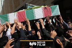 گمنام شہید کی تشییع اور تدفین