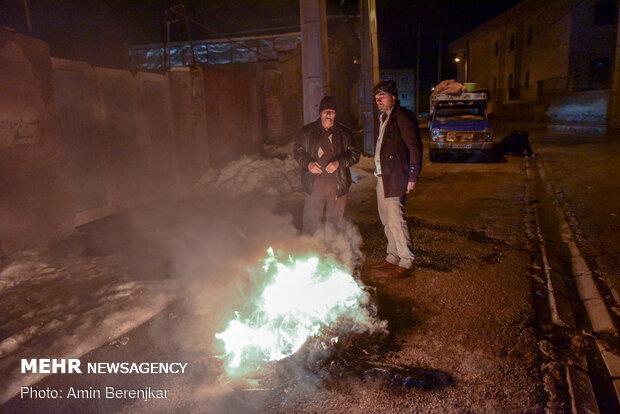 İran'daki depremden fotoğraflar
