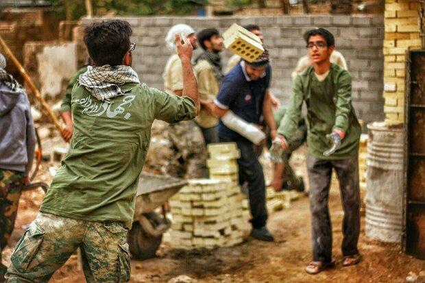 خدمت رسانی به ۸ هزار خانواده سیل زده با کمک نیروهای جهادی