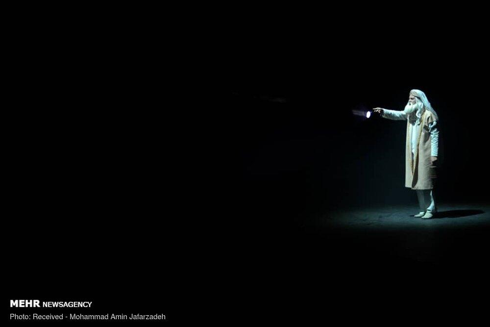 اجرای نمایش «صورت های تاریک»
