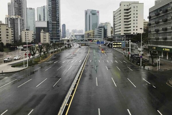 Aerial footage shows deserted streets of China's Wuhan following Coronavirus outbreak