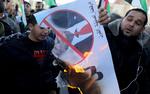 تظاهرات فلسطینیان علیه طرح موسوم به «معامله قرن»