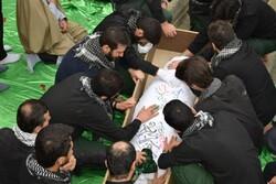 تشییع پیکر شهید گمنام در دانشگاه آزاد اسلامی آستارا