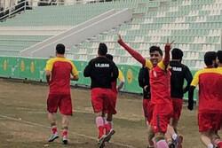 آغاز اردوی تیم ملی فوتسال در زمین چمن