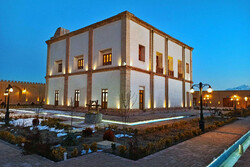 Mishijan historical castle in Khomein