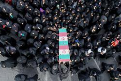 یزد میں 3 گمنام شہیدوں کی تشییع جنازہ