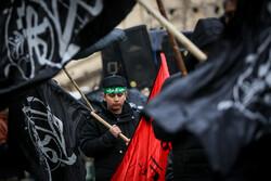 حضرت امام خمینی (رہ) اسکوائر پر فاطمی عزاداروں کا اجتماع