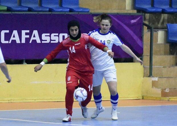 Iran cruise to win over Uzbekistan at CAFA U19 Girl's Futsal