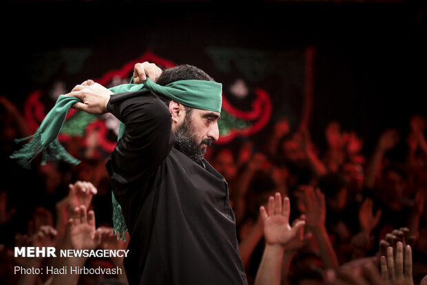 Mourning ceremony of martyrdom anniversary of Hazrat Fatemeh (PBUH) observed in Tehran…
