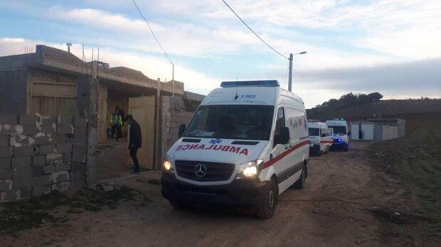 نجات ۱۲۸ مادر باردار از برف و کولاک/۱۱ مورد زایمان