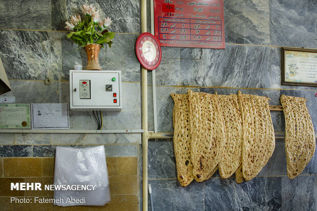 نان ملی سنگک