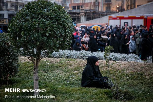 عزاداری شهادت حضرت زهرا(س) درمیدان امام خمینی(ره)