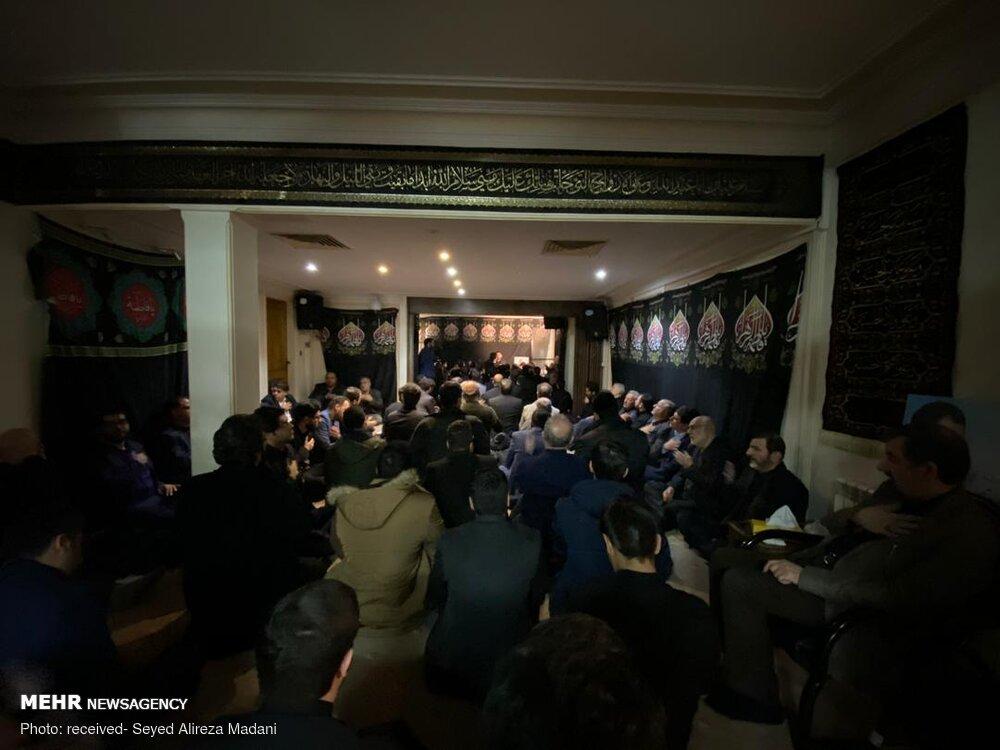 مجلس عزای حضرت فاطمه زهرا (س) در منزل محسن رضایی