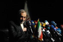 رہبر معظم کے بین الاقوامی امو رکے مشیر کا پریس کانفرنس سے خطاب