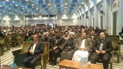 تجلیل از خادمان اربعین حسینی مهاجران افغانستانی در حرم رضوی