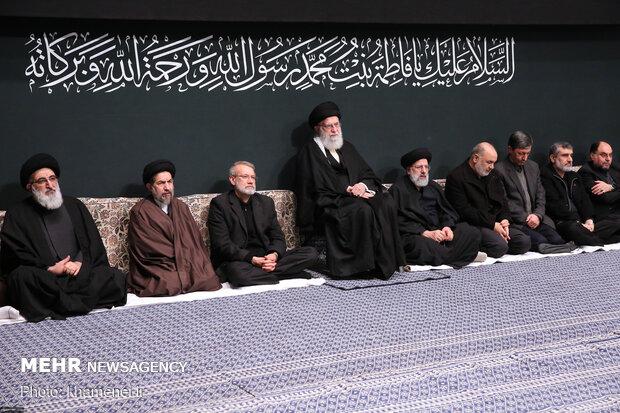 عزاداری شام شهادت حضرت فاطمه زهرا (سلاماللهعلیها) در حسینیه امام خمینی(ره)