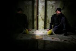 عزاداری ایام فاطمیه در امام زاده قاضی الصابر(ع)