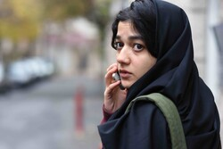 "Sadaf Asgari acts in a scene from the Iranian short film ""Exam"" directed by Sonia Haddad."